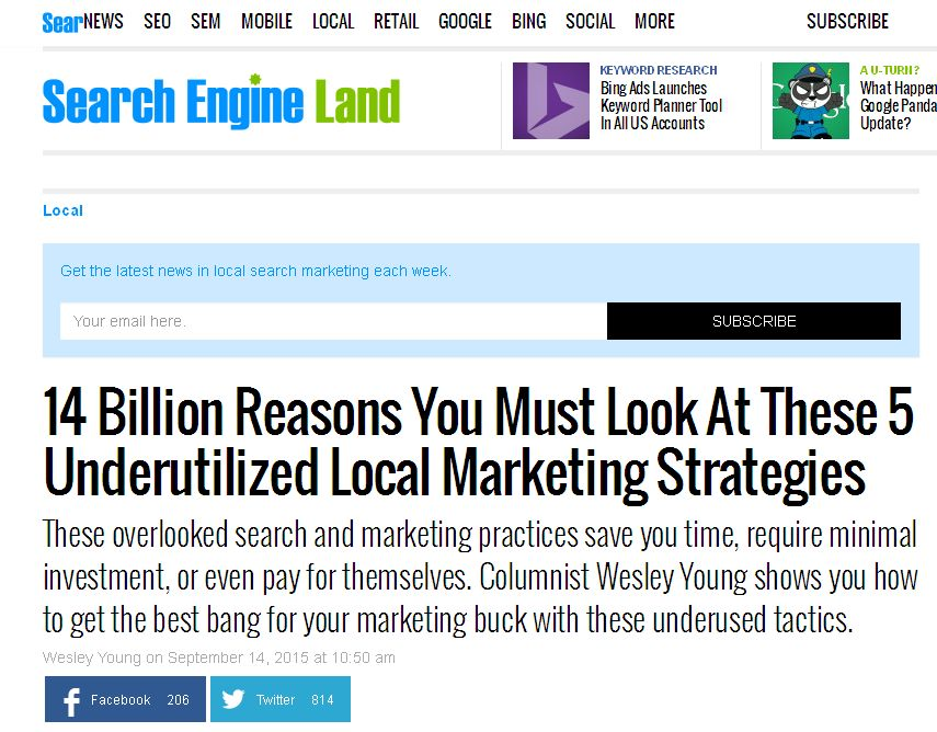 14 Billion Reasons by searchengineland